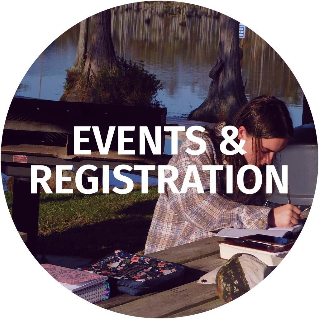 Events & Registration